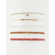 FULL TILT 5 Pack Arrow & Rhinestone Bracelets