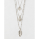 FULL TILT 3 Pack Feather Necklaces