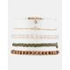 FULL TILT 5 Pack Flower & Rhinestone Bracelets