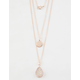 FULL TILT Star & Crystal Layered Necklace