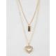 FULL TILT Heart & Love Layered Necklace