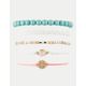 FULL TILT 5 Pack Braid & Marble Bracelets