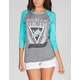 YOUNG & RECKLESS Elegant Womens Baseball Tee