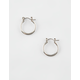 FULL TILT Mini Silver Hoop Earrings