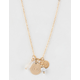 FULL TILT Howlite Gold Dainty Necklace