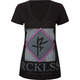 YOUNG & RECKLESS Crooked Womens Tee