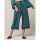 PATRONS OF PEACE Wide Leg Womens Crop Pants