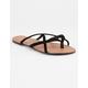 CHARLES ALBERT Criss Cross Black Womens Sandals
