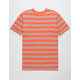 NIKE SB Summer Stripe Orange Mens T-Shirt