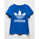 ADIDAS Trefoil Blue Girls T-Shirt