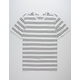 NIKE SB Summer Stripe White Mens T-Shirt