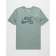 NIKE SB Logo Dri-FIT Sage Mens T-Shirt