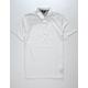 VOLCOM Wowzer White Mens Polo Shirt