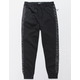 BROOKLYN CLOTH Space Dye Stripe Boys Jogger Pants