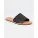 SODA Black Slide Womens Sandals