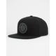 BRIXTON Rival Black Mens Snapback Hat