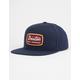 BRIXTON Jolt Navy Mens Snapback Hat