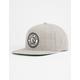 BRIXTON Rival Light Heather Grey Mens Snapback Hat