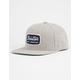 BRIXTON Jolt Light Heather Grey Mens Snapback Hat
