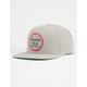 BRIXTON Wheeler Light Heather Grey Mens Snapback Hat
