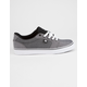 DC SHOES Anvil TX SE Black & White Mens Shoes