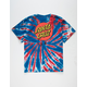 SANTA CRUZ Classic Dot Tie Dye Boys T-Shirt