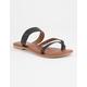 SODA Strappy Toe Slide Womens Sandals