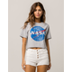 RIPPLE JUNCTION NASA Womens Crop Tee