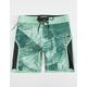 SUPERBRAND Esoterik Green Mens Boardshorts