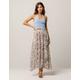 COCO & JAIMESON Floral Wrap Maxi Skirt