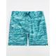 UNDER ARMOUR Reblek Printed Teal Blue Mens Boardshorts