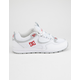 DC SHOES Kalis Lite White & Red Mens Shoes