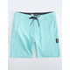 VOLCOM Lido Solid Mod Turquoise Mens Boardshorts