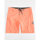 VOLCOM Lido Solid Mod Orange Mens Boardshorts
