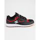 DC SHOES Kalis Lite Black & Athletic Red Mens Shoes