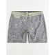 SALTY CREW Rocks Docks Grey Mens Boardshorts