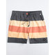 TCSS Sunset Summer Black Mens Boardshorts
