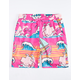 PINK DOLPHIN Summer Splash Mens Swim Trunks