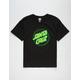 SANTA CRUZ Other Dot Black & Green Boys T-Shirt