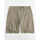 HURLEY Dri-FIT Breathe Olive Mens Shorts
