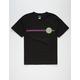 SANTA CRUZ Beach Dot Black Boys T-Shirt