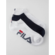 FILA 3 Pack No Show Womens Socks