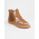 SODA Strappy Gladiator Womens Sandals
