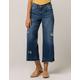 REWASH Crop Wide Leg Womens Ripped Jeans