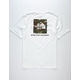 THE NORTH FACE Red Box White Mens T-Shirt