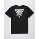 VANS Floral Check Triangle Mens T-Shirt
