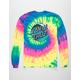 SANTA CRUZ Wave Dot Tie Dye Rainbow Mens T-Shirt