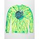 SANTA CRUZ Wave Dot Tie Dye Green Combo Mens T-Shirt