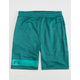 UNDER ARMOUR MK-1 Terry Teal Blue Mens Shorts