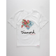 DIAMOND SUPPLY CO. Painted Floral Boys T-Shirt